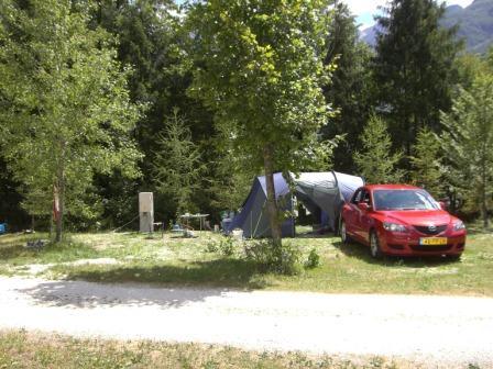 Camping in Slovenië