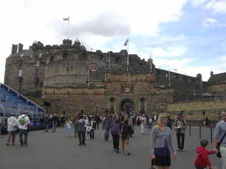 Edinburgh Castle voorplein