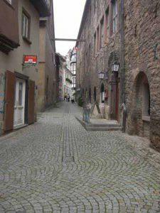 Doorkijkje in Sangerhausen
