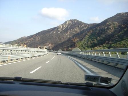 Sardinie heenweg