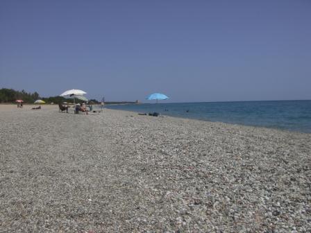Sardinie kiezelstrand