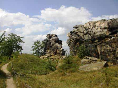 Teufelsmauer nabij Thale