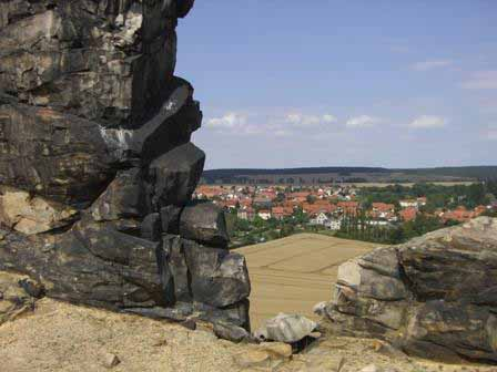 Teufelsmauer uitzicht
