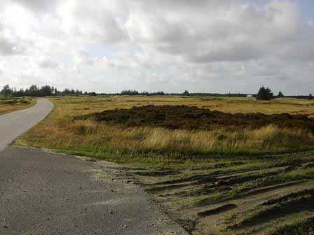 Militair oefenterrein in Denemarken