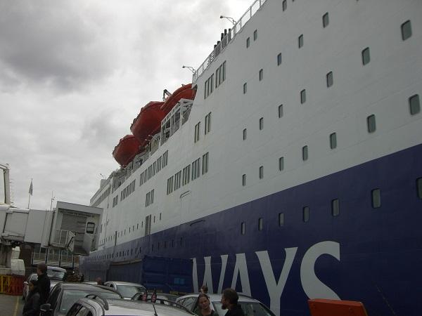 DFDS Seaways boot naar Schotland