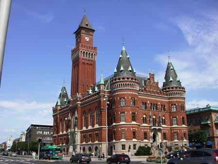 Helsingborg gemeentehuis
