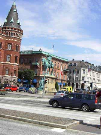Helsingborg Stortorget plein