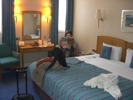 Hotelkamer Hotel Thistle Euston Londen