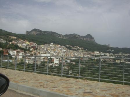 Sardinie langs de route