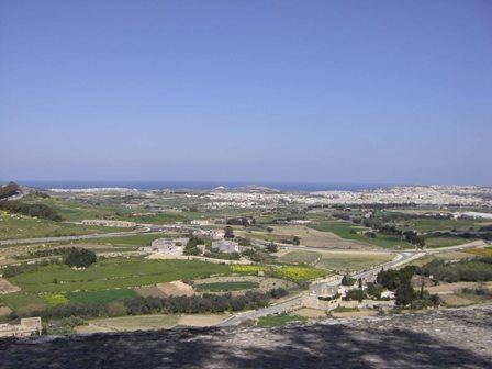 Malta natuur bij Medina