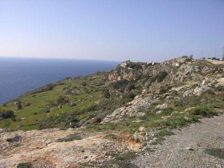 Natuur bij Djingi op Malta