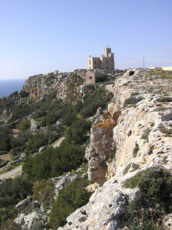 Rotsige natuur op Malta