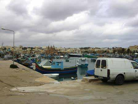 Marsaxlokk haven