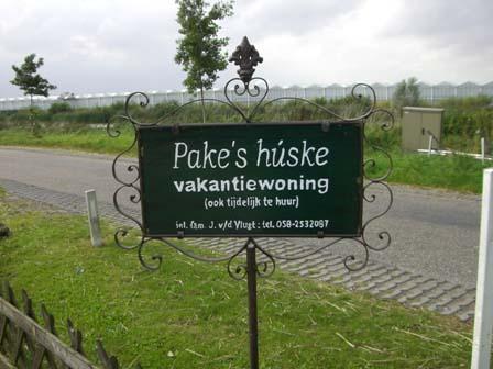 Pakes Huske vakantiewoning