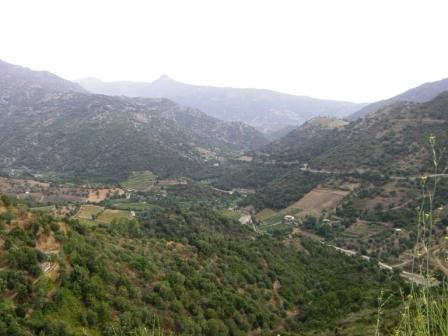 uitzicht sardinie