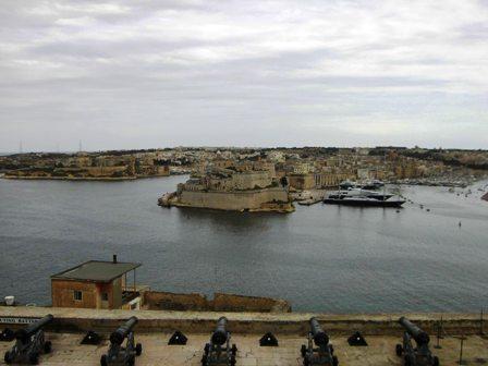 Uitzicht vanaf Barracca