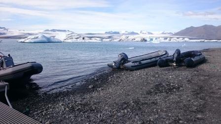 zodiac boot ijsland