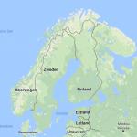 Zweden op de kaart