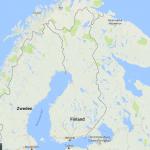 Finland op de kaart