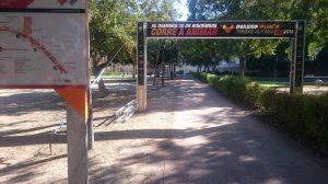Jardín del Turia, het Turiapark, een sportief park