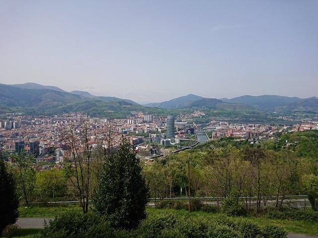 Uitzichten op Bilbao vanaf Artxanda